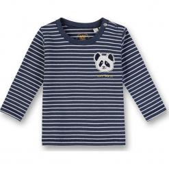 Koszulka w kolorze granatowo-niebieskim. Białe t-shirty chłopięce z długim rękawem marki UP ALL NIGHT, z bawełny. W wyprzedaży za 42,95 zł.