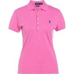 Polo Ralph Lauren JULIE POLO Koszulka polo pink peony. Szare bralety marki Polo Ralph Lauren, z bawełny. Za 419,00 zł.