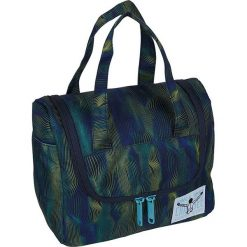 """Kosmetyczka """"Toiletery"""" w kolorze granatowo-zielonym - 25 x 20 x 12 cm. Niebieskie kosmetyczki damskie Chiemsee Bags. W wyprzedaży za 61,95 zł."""