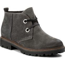 Botki MARCO TOZZI - 2-25222-29 Dk. Grey A. Comb 226. Szare buty zimowe damskie marki Marco Tozzi, ze skóry ekologicznej, na obcasie. W wyprzedaży za 209,00 zł.