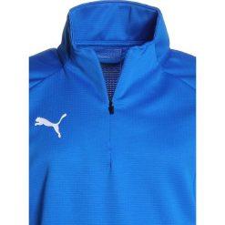 Puma LIGA TRAINING ZIP  Koszulka sportowa electric blue lemonade/puma white. Różowe bluzki dziewczęce z długim rękawem marki Puma, na lato, z tkaniny, sportowe. Za 169,00 zł.