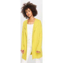 Swetry damskie: Kardigan – Zielony