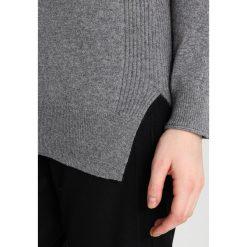 Swetry klasyczne damskie: Sisley TURTLE NECK Sweter dark grey