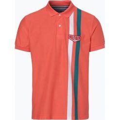 Tommy Hilfiger - Męska koszulka polo, pomarańczowy. Szare koszulki polo marki TOMMY HILFIGER, z bawełny. Za 199,95 zł.