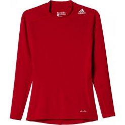 Adidas Koszulka męska Techfit Base Long Sleeve czerwona r. XXL (AJ5015). Czerwone koszulki sportowe męskie marki Adidas, m, techfit (adidas). Za 89,00 zł.