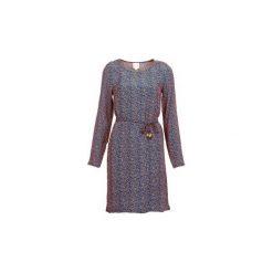 Sukienki krótkie Petite Mendigote  JOSEPHINE. Szare sukienki hiszpanki Petite Mendigote, m, petite, z krótkim rękawem, mini. Za 455,20 zł.