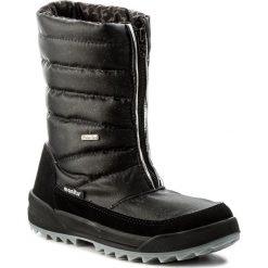 Śniegowce MANITU - 991177 Schwarz 1. Czerwone buty zimowe damskie marki Reserved, na niskim obcasie. W wyprzedaży za 249,00 zł.
