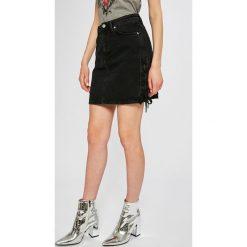 Pepe Jeans - Spódnica Rachel. Szare spódniczki jeansowe Pepe Jeans, s, midi. W wyprzedaży za 299,90 zł.