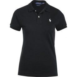 Bluzki damskie: Polo Ralph Lauren SKINNY FIT Koszulka polo black