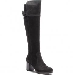 Kozaki SERGIO BARDI - Faule FW127368218CC 201. Czarne buty zimowe damskie Sergio Bardi, z materiału. W wyprzedaży za 299,00 zł.
