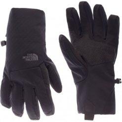 The North Face Rekawiczki W Apex+ Etip Glove Tnf Black L. Czarne rękawiczki damskie marki The North Face, z materiału. W wyprzedaży za 109,00 zł.
