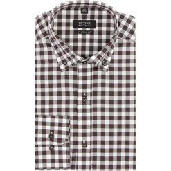Koszula versone 2705 długi rękaw custom fit brąz. Czerwone koszule męskie marki Recman, m, z długim rękawem. Za 149,00 zł.