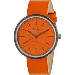 """Zegarki męskie: Zegarek kwarcowy """"the 3000"""" w kolorze pomarańczowo-antracytowym"""