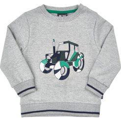 Bluza w kolorze szarym. Szare bluzy niemowlęce MeToo, z aplikacjami. W wyprzedaży za 62,95 zł.