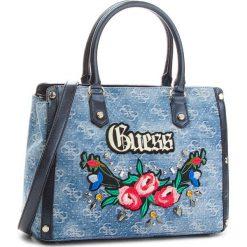 Torebka GUESS - HWDG69 92060  BDM. Niebieskie torebki klasyczne damskie marki Guess, z aplikacjami, z materiału. Za 699,00 zł.