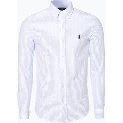Polo Ralph Lauren - Koszula męska, czarny. Szare koszule męskie marki Polo Ralph Lauren, l, z bawełny, button down, z długim rękawem. Za 299,95 zł.