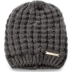 Czapka TRUSSARDI JEANS - Hat Knitted 59Z00033  E280. Szare czapki zimowe damskie marki Calvin Klein Jeans, na zimę, z jeansu. Za 169,00 zł.