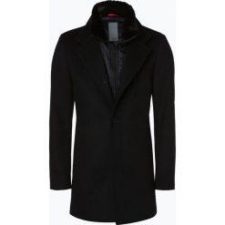 Płaszcze na zamek męskie: Cinque - Płaszcz męski – Ciarsenal, czarny