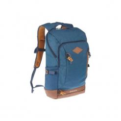 Plecak turystyczny NH500 20 l. Szare plecaki męskie QUECHUA, z materiału. Za 99,99 zł.
