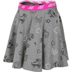 Spódniczki dziewczęce: Spódniczka dresowa dla małych dziewczynek JSPUD102 – szary melanż