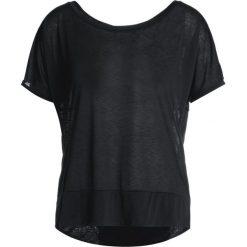ASICS CROP &SHADOW BRILLIANT Tshirt z nadrukiem performance black. Czarne topy sportowe damskie Asics, s, z nadrukiem, z materiału. W wyprzedaży za 126,65 zł.