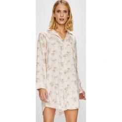 Lauren Ralph Lauren - Koszula nocna. Szare koszule nocne i halki marki Lauren Ralph Lauren, l, z poliesteru. Za 399,90 zł.