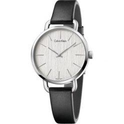 ZEGAREK CALVIN KLEIN CK LADY EVEN K7B231C6. Szare zegarki damskie marki Calvin Klein, szklane. Za 969,00 zł.