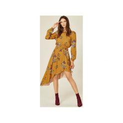 Sukienki: Sukienka Carla miodowy