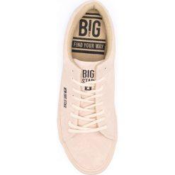 Big Star - Tenisówki. Szare tenisówki damskie marki BIG STAR, z materiału. W wyprzedaży za 59,90 zł.