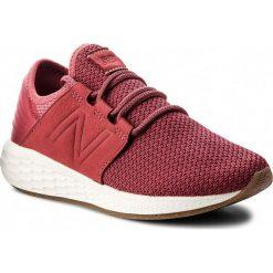 Buty NEW BALANCE - WCRUZNR2  Bordowy. Czerwone buty do biegania damskie marki KALENJI, z gumy. W wyprzedaży za 269,00 zł.