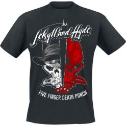 Five Finger Death Punch Jekyll And Hyde T-Shirt czarny. Czarne t-shirty męskie z nadrukiem marki Caliban, s. Za 89,90 zł.