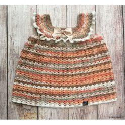 Sukienki niemowlęce: Śliczna ręcznie robiona sukieneczka