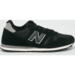 New Balance - Buty ML373BLG. Czarne halówki męskie marki New Balance, z materiału, na sznurówki. Za 299,90 zł.