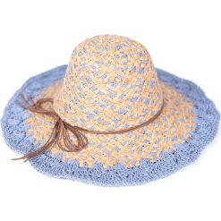 Kapelusz damski Paradise beżowo-niebieski. Brązowe kapelusze damskie Art of Polo. Za 69,13 zł.