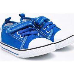 American Club - Tenisówki dziecięce. Szare buty sportowe chłopięce American CLUB, z materiału. W wyprzedaży za 33,90 zł.