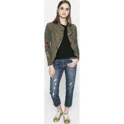 Desigual - Jeansy Mai. Niebieskie proste jeansy damskie marki Desigual. W wyprzedaży za 269,90 zł.