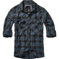 Brandit Checkshirt Koszula niebieski/szary/czarny. Białe koszule męskie na spinki marki Brandit, l, z aplikacjami, z bawełny, z długim rękawem. Za 121,90 zł.