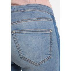 Miss Selfridge Petite LIZZIE SIDE STRIPE  Jeans Skinny Fit blue. Niebieskie jeansy damskie Miss Selfridge Petite, petite. Za 229,00 zł.