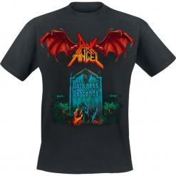 Dark Angel Darkness descends T-Shirt czarny. Czarne t-shirty męskie Dark Angel, l. Za 74,90 zł.