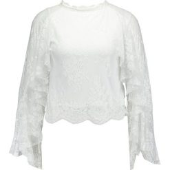 Bluzki asymetryczne: Navy London PETAL Bluzka white
