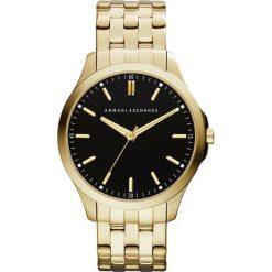 Armani Exchange Zegarek goldcoloured. Czarne zegarki męskie marki Armani Exchange, l, z materiału, z kapturem. Za 879,00 zł.