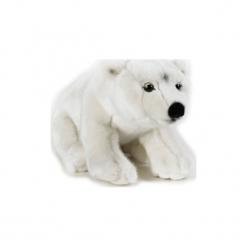 Maskotka DANTE National Geographic Niedźwiedź polarny. Szare przytulanki i maskotki marki DANTE, z materiału. Za 69,90 zł.