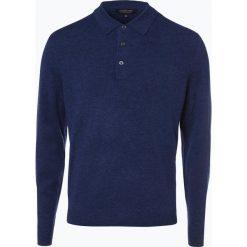 Andrew James - Sweter męski z czystego kaszmiru, niebieski. Niebieskie swetry klasyczne męskie Andrew James, m, z kaszmiru. Za 599,95 zł.