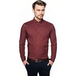 Koszula bexley 2288 długi rękaw slim fit czerwony. Czerwone koszule męskie slim Recman, m, z długim rękawem. Za 69,99 zł.