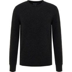 Barbour HAROLD CREW NECK Sweter graphite. Szare swetry klasyczne męskie Barbour, l, z bawełny. Za 549,00 zł.