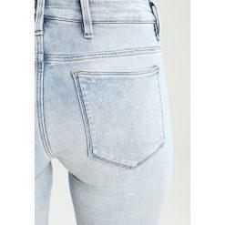 GStar 5622 MID SKINNY  Jeans Skinny Fit elto superstretch. Szare boyfriendy damskie G-Star, z bawełny. W wyprzedaży za 365,40 zł.