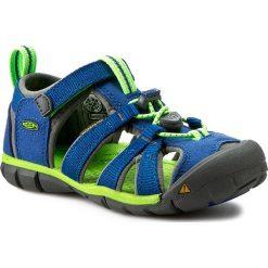 Sandały KEEN - Seacamp II Cnx 1014471 True Blue/Jasmine Green. Niebieskie sandały chłopięce marki Keen, z materiału. W wyprzedaży za 189,00 zł.
