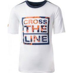 T-shirty chłopięce: IQ Koszulka dziecięca COLIS JR White/ Total Eclipse r. 158