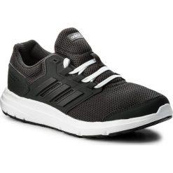 Buty adidas - Galaxy 4 W CP8833 Carbon/Carbon/Ftwwht. Czarne buty do biegania damskie marki Adidas, z kauczuku. W wyprzedaży za 169,00 zł.