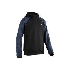 Bluza z kapturem S900. Czarne bluzy chłopięce rozpinane DOMYOS, z kapturem. Za 64,99 zł.